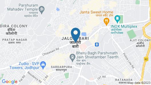Ranbanka Palace Map