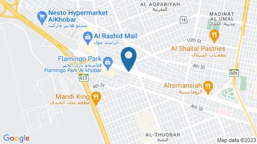 Crowne Plaza Al Khobar Map