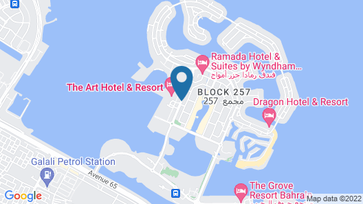 The Art Hotel & Resort Map