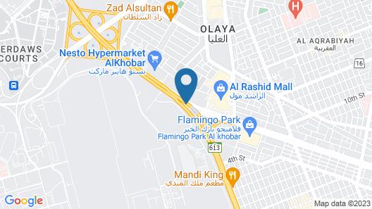 Grand Hyatt Alkhobar Hotel and Residences Map