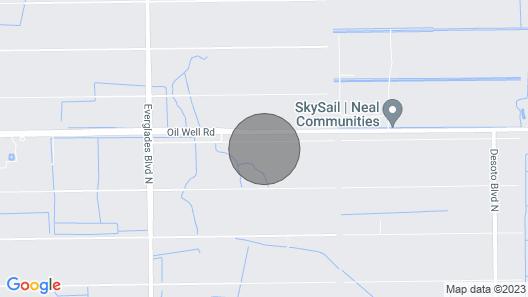 GOLDEN GATE ESTATES 3/2, on 2.5 acres Map