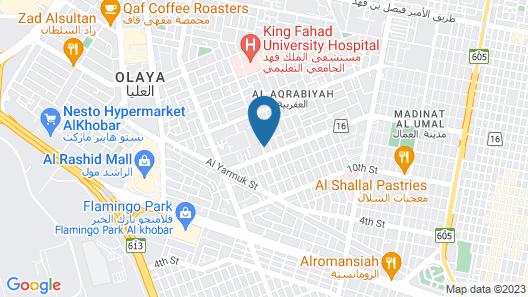 MJ Apartments Map