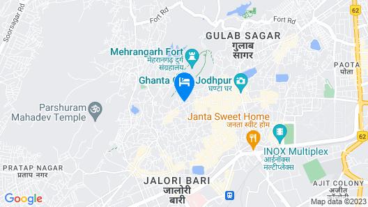 Shahi Heritage - Shahi Guest House Map