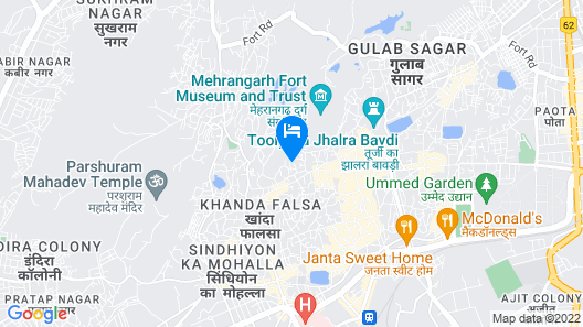 Krishna Prakash Heritage Haveli Map