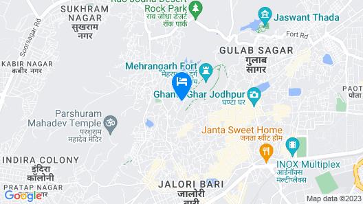 Singhvi's Haveli Map