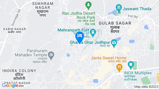 Raj Mandir Boutique Home Stay Map