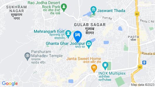 Yogi Guest House Map