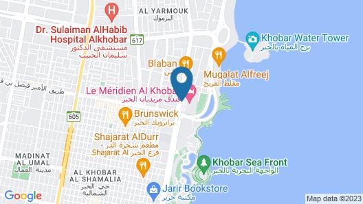 Le Meridien Al Khobar Map