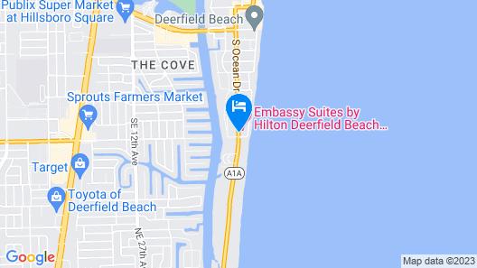 Embassy Suites Deerfield Beach - Resort & Spa Map