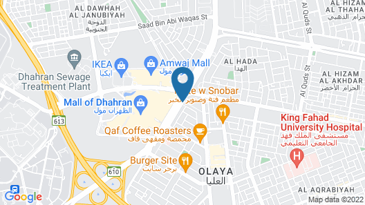 Hilton Garden Inn Al Khobar Map