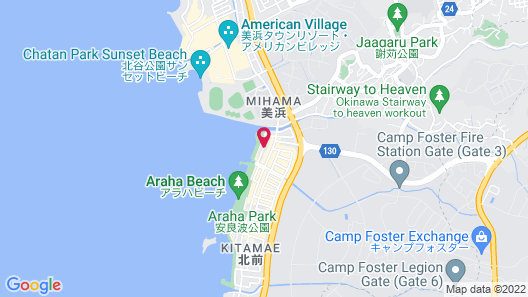 Beach Front Tower MIHAMA byDSH Map