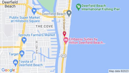 Ocean Villas of Deerfield Map