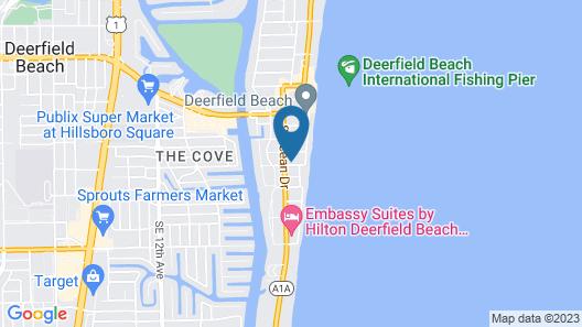 Tropic Isle Beach Resort Map