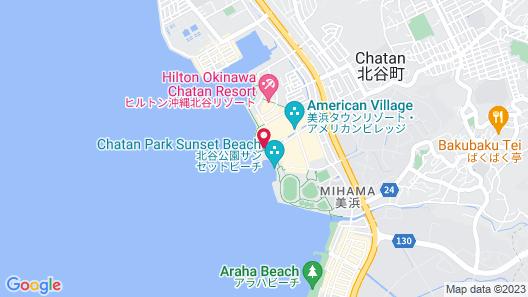 Vessel Hotel Campana Okinawa Map