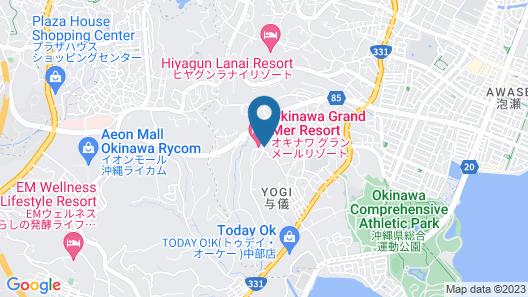 Okinawa Grand Mer Resort Map