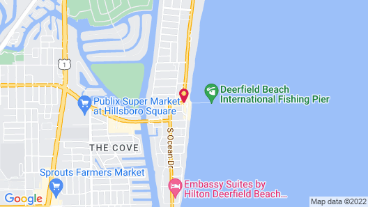 Wyndham Deerfield Beach Resort Map