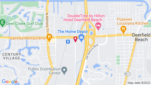 La Quinta Inn & Suites by Wyndham Deerfield Beach I-95 Map