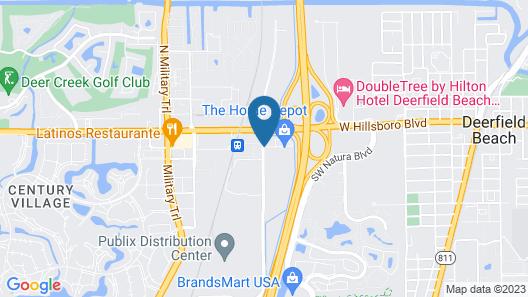La Quinta Inn & Suites by Wyndham Deerfield Beach I-95 Map