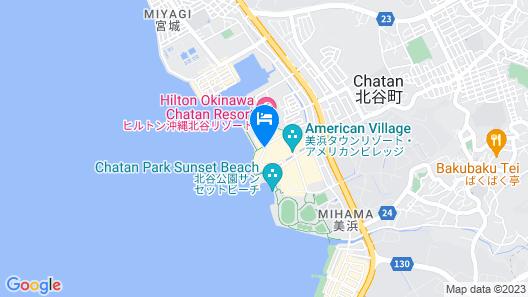 Lequ Okinawa Chatan Spa & Resort Map