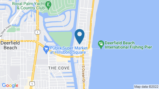 Club Lux Resort By the Beach Map
