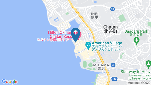 DoubleTree by Hilton Okinawa Chatan Resort Map