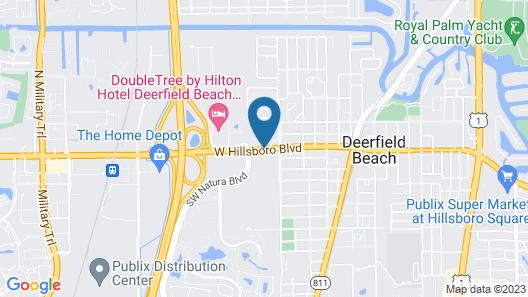 La Quinta Inn by Wyndham Deerfield Beach I-95 at Hillsboro E Map
