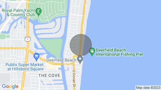 Beachside Villa - Ocean Blvd. Ocean 100 Ft Map