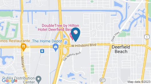 Fairfield by Marriott Inn & Suites Deerfield Beach Boca Raton Map