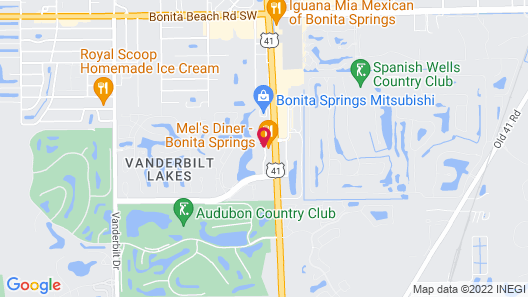 La Quinta Inn & Suites by Wyndham Bonita Springs Naples N. Map