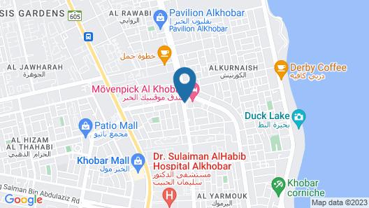 Movenpick Hotel Al Khobar Map