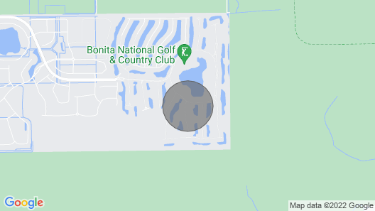 Golf Membership Included - Paradise Home in Desirable Bonita National Golf Club Map