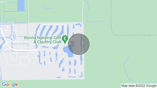Bonita National Country Club Unit Available for March and April 2021 Map