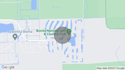 Bonita National Golf & Country Club Map