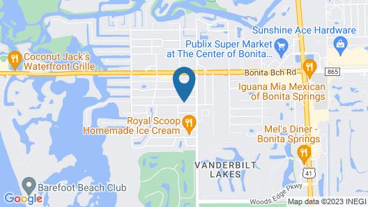 Bonita Shores Cottage #64812 Map