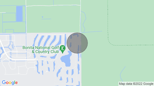 Bonita National - First Floor Condo With Golf! Map