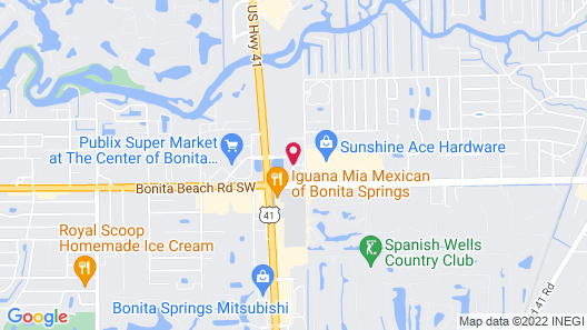 Hampton Inn by Hilton Bonita Springs / Naples - North Map