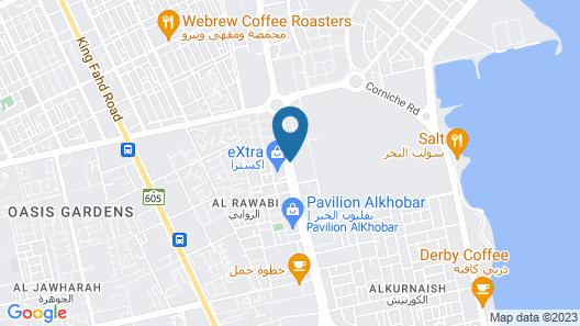 Park Inn by Radisson Al Khobar Map