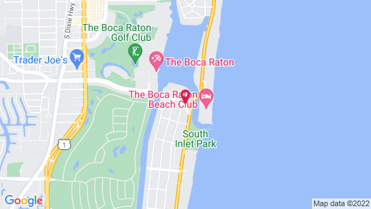 Waterstone Resort & Marina Boca, Curio Collection by Hilton Map