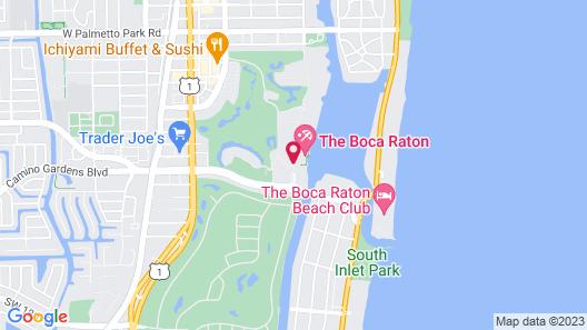 Boca Raton Resort and Club, A Waldorf Astoria Resort Map
