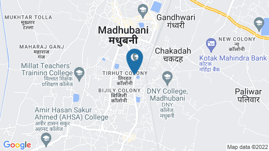 Hotel cloud 9 Map