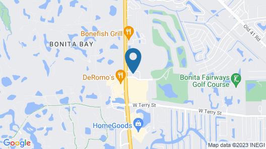 Homewood Suites Bonita Springs Map