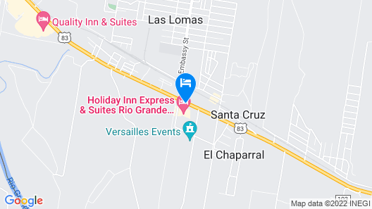 Holiday Inn Express & Suites Rio Grand Map
