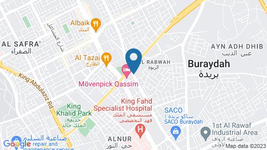 Movenpick Hotel Qassim Map