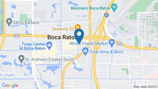Renaissance Boca Raton Hotel Map