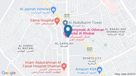 Kempinski Al Othman Hotel Al Khobar Map