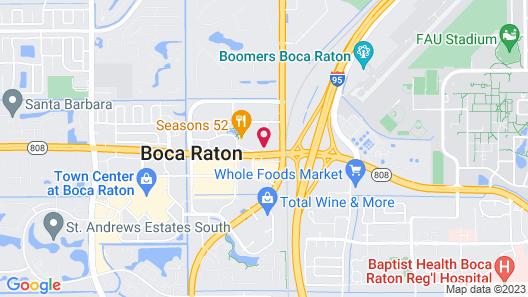 Sonesta Select Boca Raton Map