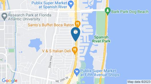 Boca Plaza Map