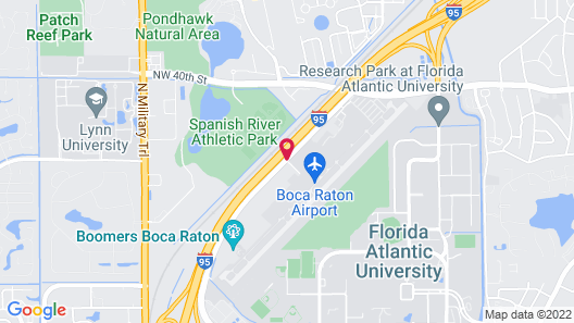 Fairfield Inn And Suites By Marriott Boca Raton Map