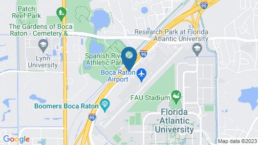 Fairfield Inn And Suites By Marriott Boca Raton Map