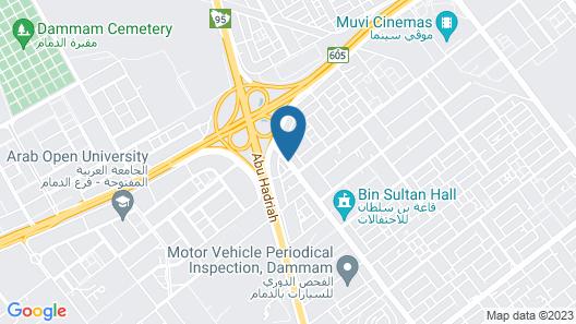 Hyatt Alsharq Map